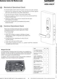 scsehf h2se user manual rev1 assa abloy inc