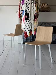 Dining Chairs With Metal Legs Bontempi Kate Dining Chair With Metal Legs Dining Chairs Bontempi