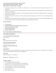Resume For Airport Jobs by Cv Krishna Mall Manager Plant U0026 Equipment