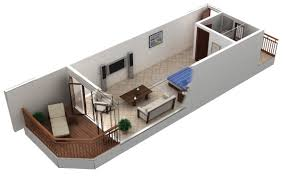 800 sq ft apartment floor plan 3d architecture 2 bedroom 2 bath