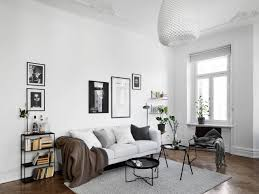 Black And White Home by Black And White Scandinavian Living Room Living Room Blog