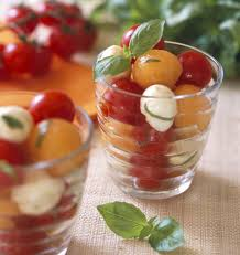 les meilleures recettes de cuisine salade de melon tomates et mozzarella les meilleures recettes de
