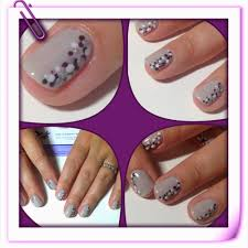 toptwentynails nail art with shellac quick and easy dot design