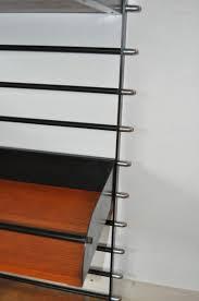 french modular black metal shelf 1950s for sale at pamono