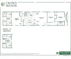 3 bedroom modular home floor plans oak creek homes single wide floor plans