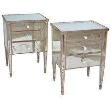nightstands distressed nightstands shabby chic cottage style