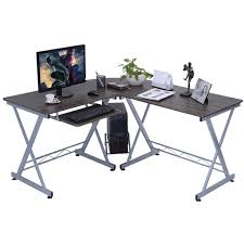 Corner Laptop Desks For Home L Shape Computer Desk Pc Wood Laptop Table Workstation Corner Home