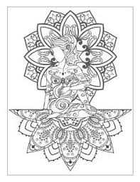 yoga and meditation coloring book for with yoga poses and