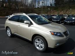 lexus metallic 2012 lexus rx 450h awd hybrid in satin cashmere metallic photo 6
