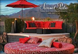 outdoor resort style living scottsdale patio furniture patio