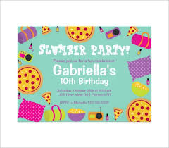 100 free printable slumber party invitation customize a free