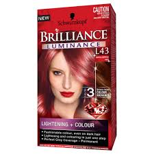 men with red fingernails and curlers in hair buy brilliance luminance l43 smouldering red 1 pack by schwarzkopf