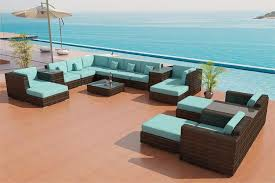 Teal Sofa Set by Sectional Sofa Outdoor Patio Furniture Set 25
