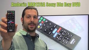 anderic rrb126a for sony blu ray dvd player remote www