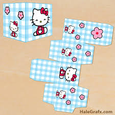 printable kitty treat box