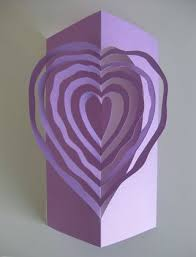 craftside valentine heart pop up template by helen hiebert