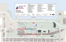 grant park chicago map chicago marathon october 12 2014