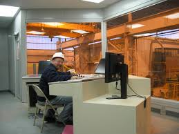 industrial control room for steel mill portafab case study