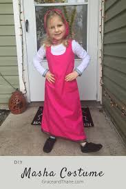 diy masha costume grace thane
