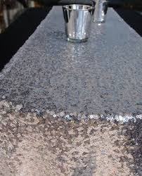 silver sequin table runner sequin table runner silver 12 x 108 on sale now from