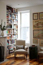 Small Book Shelves by A Farmhouse Style Home In Brooklyn Book Nooks Farmhouse Style