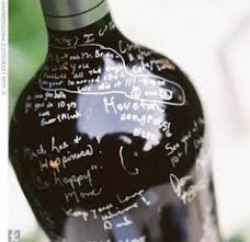 wine bottle guestbook the guest book sugar bowl weddings