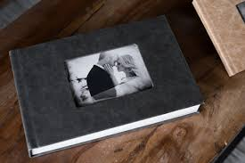 wood photo album custom designed wedding albums photography bend