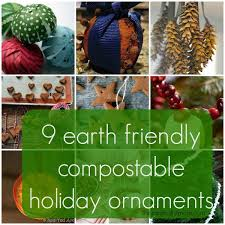 9 compostable or edible tree decorations the