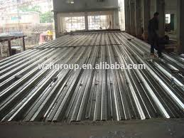 floor use metal deck on h beam with concrete for floor buy steel