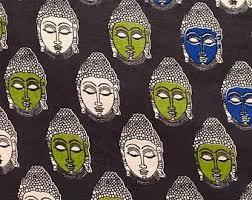 buddha fabric etsy