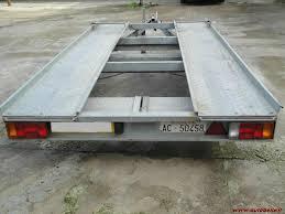 carrello porta auto usato vendesi vendo carrello trasporto auto pompa depressione