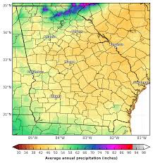 National Temperature Map Prism Precipitation Maps For The Southeast U S Southeast