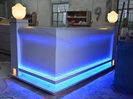 reception front desk for sale new design of reception table spa reception desk counter table