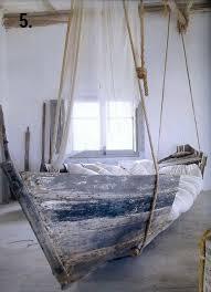 Remodelaholic DIY Hanging Loft Bed In A Girls Bedroom - Fancy bunk beds