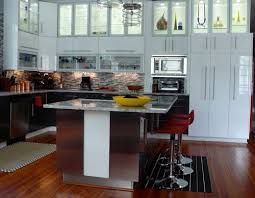modern family kitchen set
