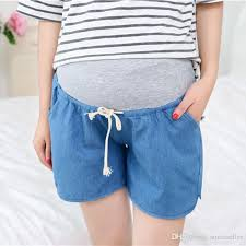 maternity shorts 2018 hot sale summer maternity shorts fashion maternity clothes