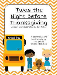twas the before thanksgiving a common book study tpt