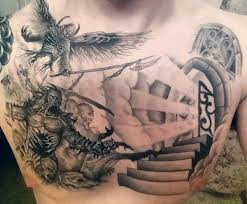 50 heaven tattoos for higher place design ideas