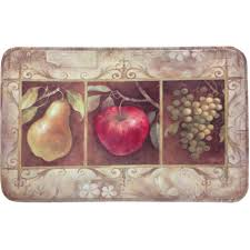 Kitchen Apples Home Decor Home Dynamix Calm Chef 19 6 In X 31 5 In Anti Fatigue Kitchen