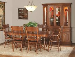 fresh amish oak dining room set decorations ideas inspiring best
