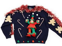 ugly holiday sweaters on rent the runway business insider