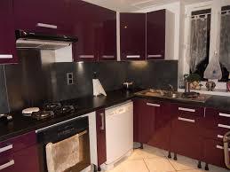 cuisine couleur aubergine tonnant cuisine moderne couleur aubergine d coration bureau domicile