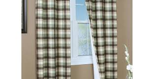 curtains red checkered curtains participation beige and blue