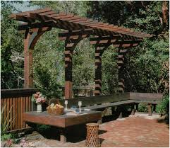 backyards amazing overhang pergola nice seating area repinned by