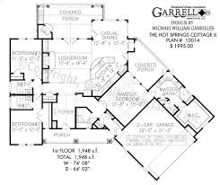 Floor Plan Cottage by Springs Cottage Lll House Plan House Plans By Garrell