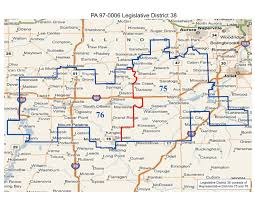 Illinois Map Of Cities by Will County Politics Realigned Illinois State Legislative And