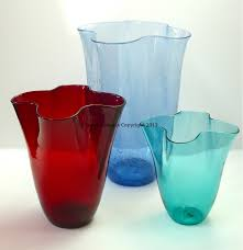 Blenko Vase Heart Of Glass Blenko Glass Pre Designer 404 Vases 365 Days Of