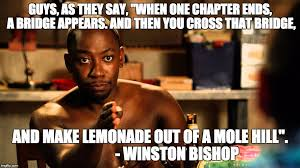New Girl Meme - winstonwisdom guys as they say when one chapter ends a bridge