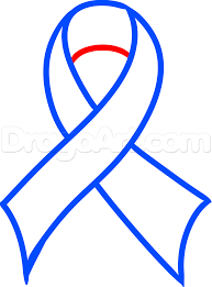 blue support ribbon drawing a support our troops ribbon step by step stuff pop