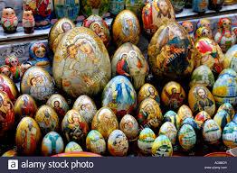 ukrainian decorated eggs ukrainian souvenir painted eggs decorated with religious patterns